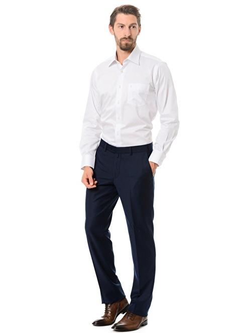Kiğılı Klasik Pantolon Saks